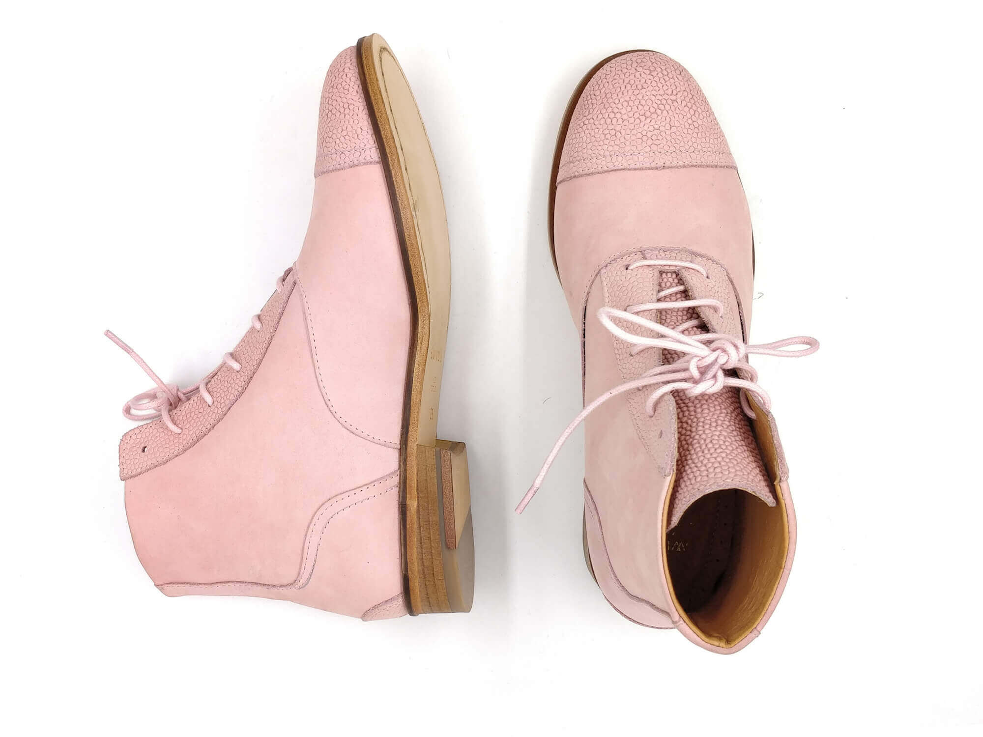Photo Zoom Mama Gummy Candy pink nubuck boots