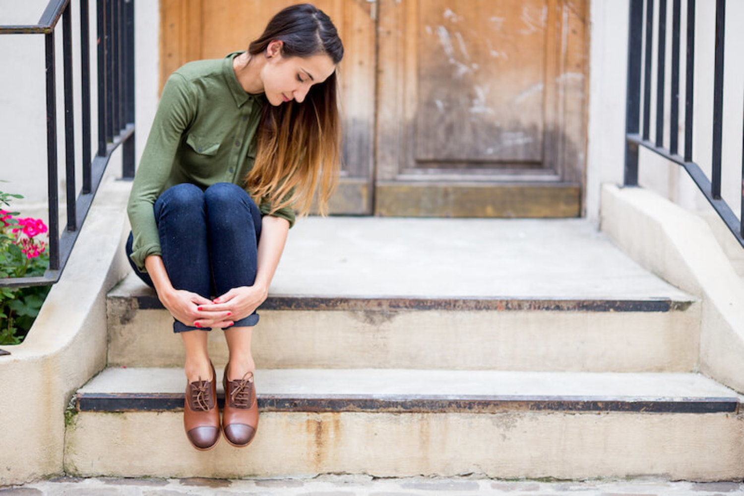 How to wear brown derbies