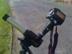 Solar photography: My equipment