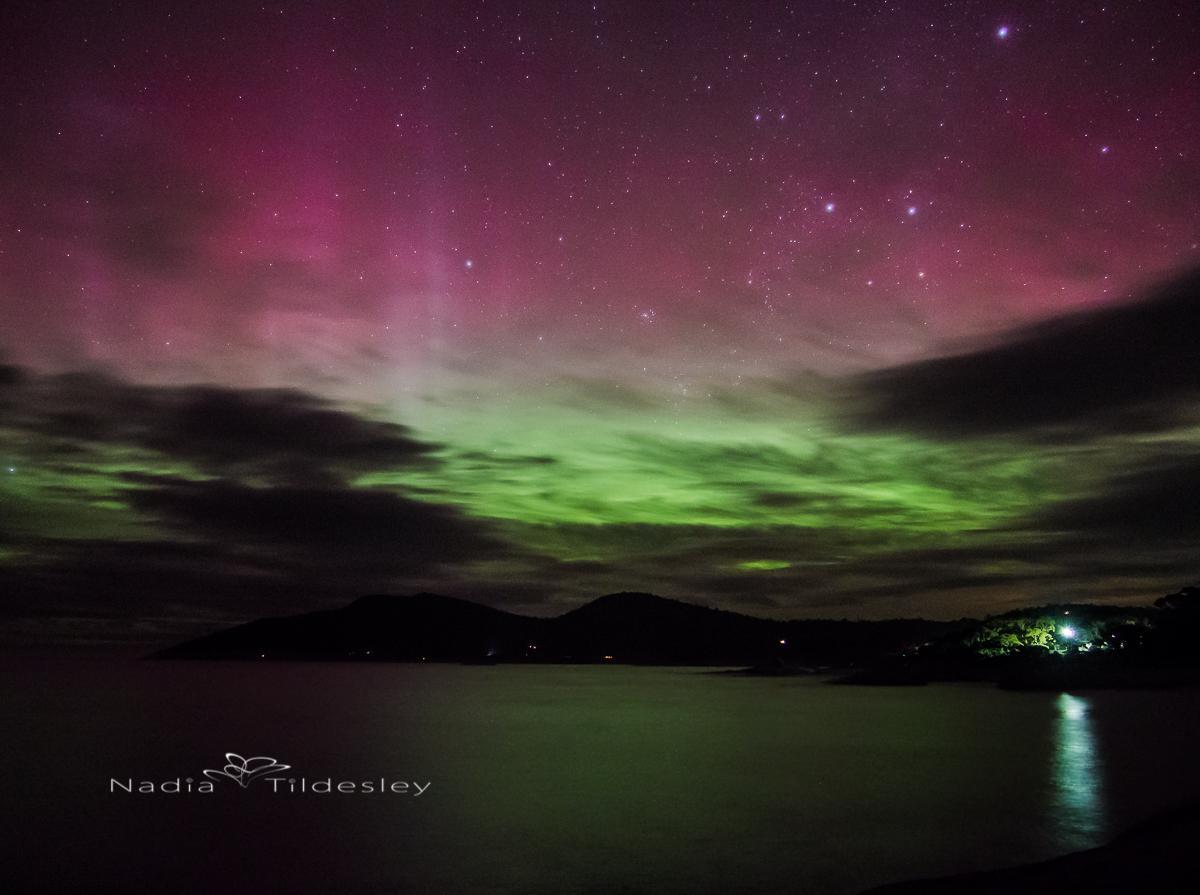how to visit aurora australis tasmania