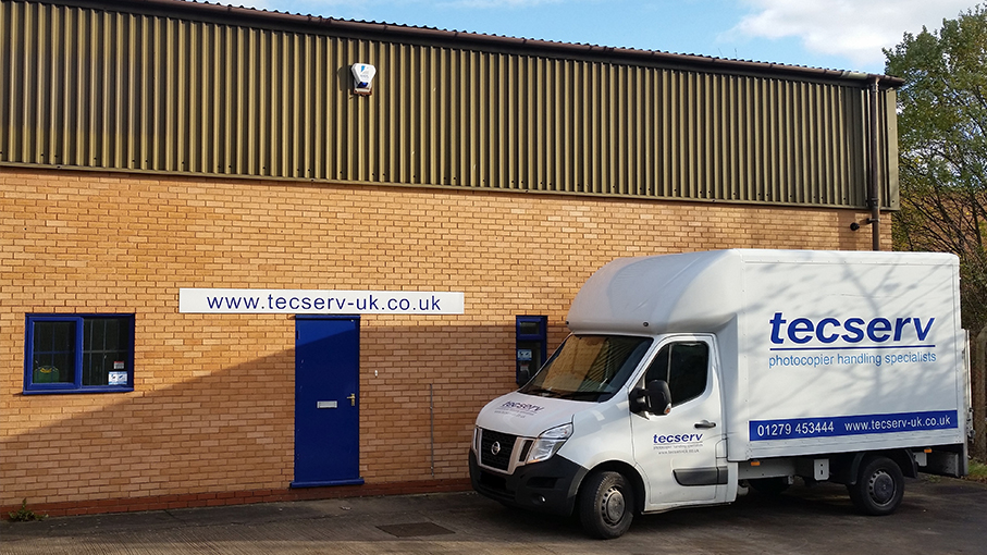 Tecserv's New Depot in Warwickshire Fully Operational