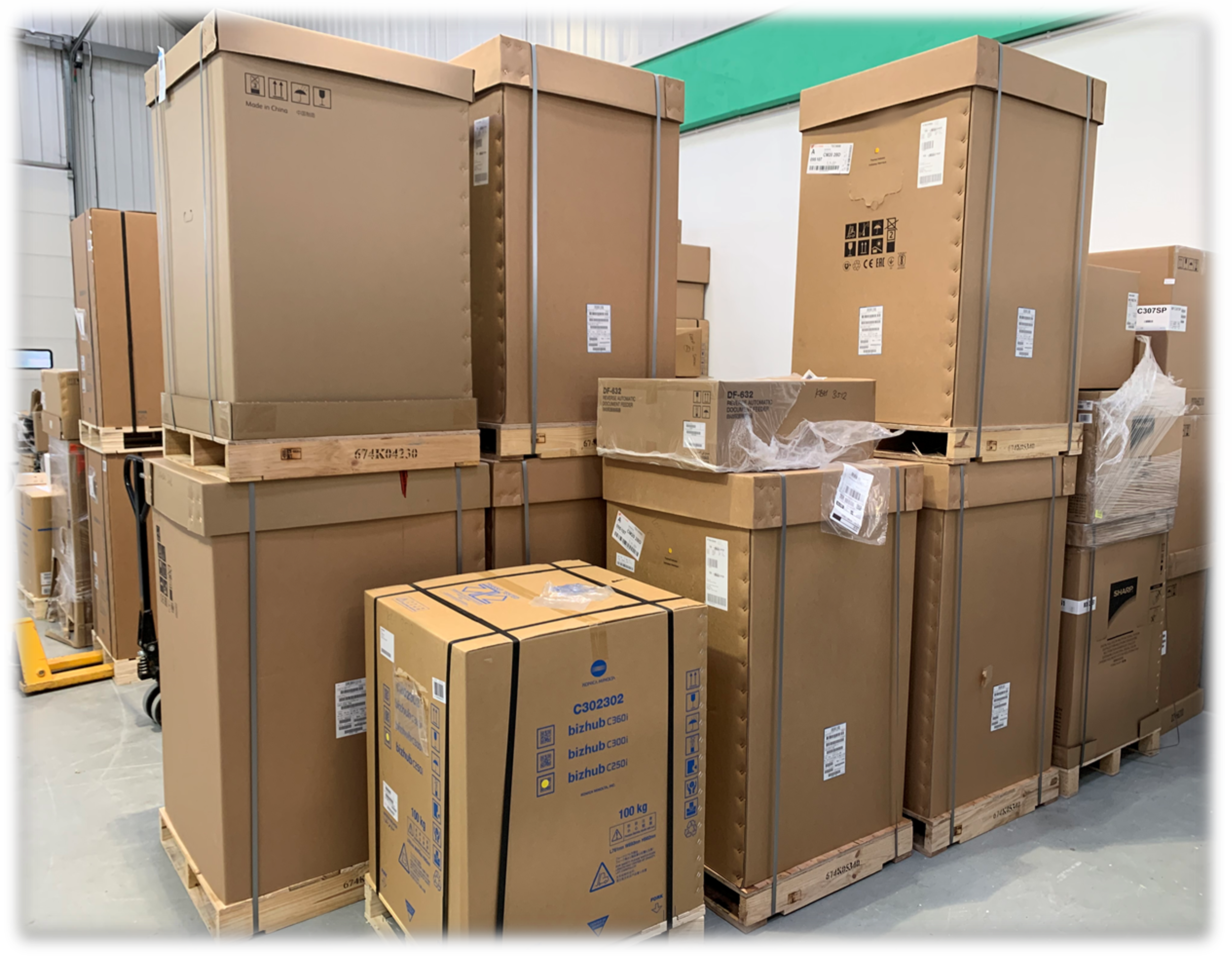 Tecserv are now accepting deliveries of new boxed equipment at all of our depots!