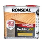 Ronseal 36936 Ultimate Protection Decking Oil Natural Pine 2.5 litre