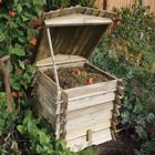Beehive Wooden Composter