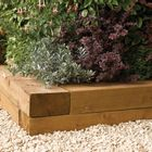 Heavy Duty Timber Sleepers (Pack of 2)