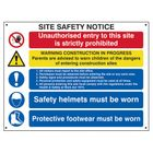 Scan SCA4550 Composite Site Safety Notice - FMX 800 x 600mm