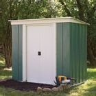 Greenvale Metal Pent Shed