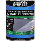Everest Trade - Quick Drying Ultimate Floor Paint - High Build - Anti-Slip - Available in 20 & 5 Litre, 5 Litre / Black / No