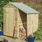 Oxford Windowless Shed with Lean-To