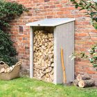 Heritage Traditional Grey Log Store