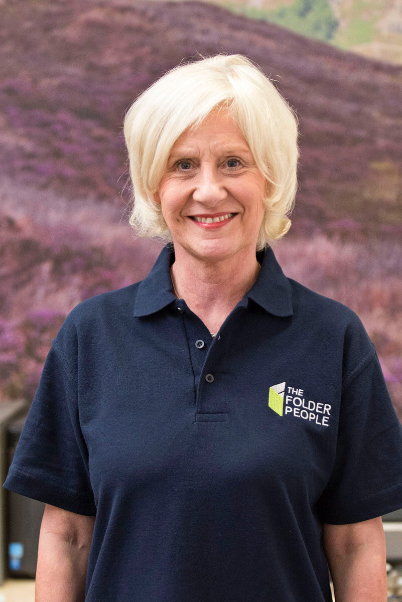 Louise Marshall - Receptionist - The Folder People