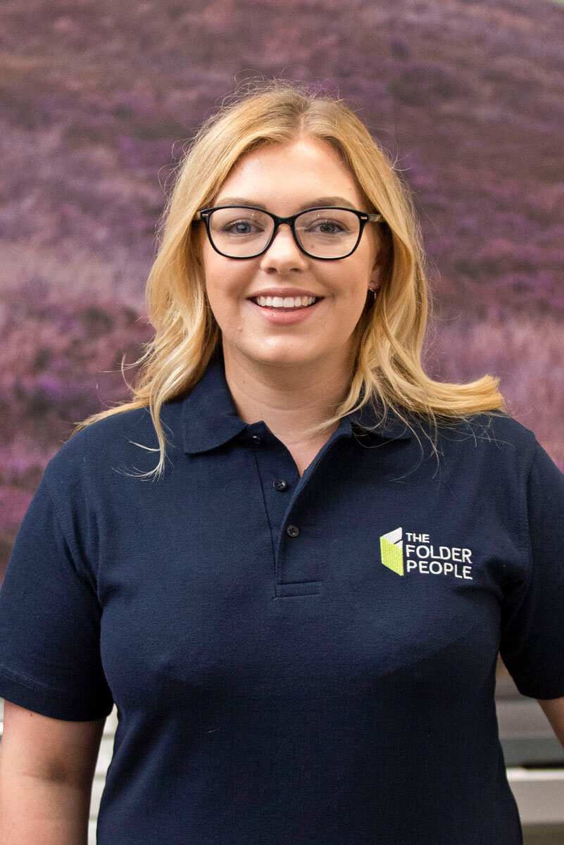 Molly Blackburn - Project &  Marketing Manager - The Folder People