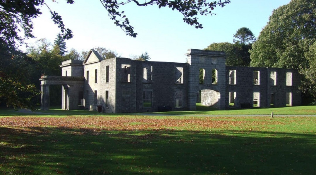 The Mansion House in Aden Country Park