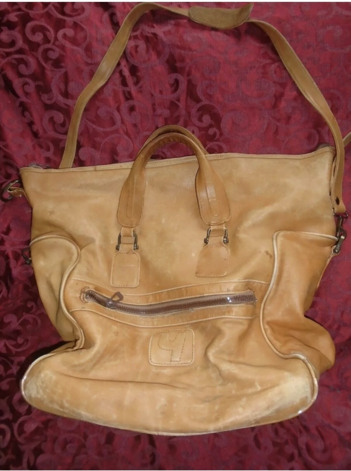 Deeply satisfied Leather Bag