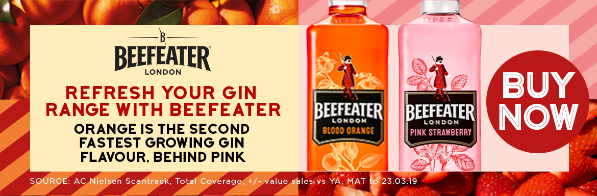 Beefeater Gin - Refresh your Gin Range with Beefeater