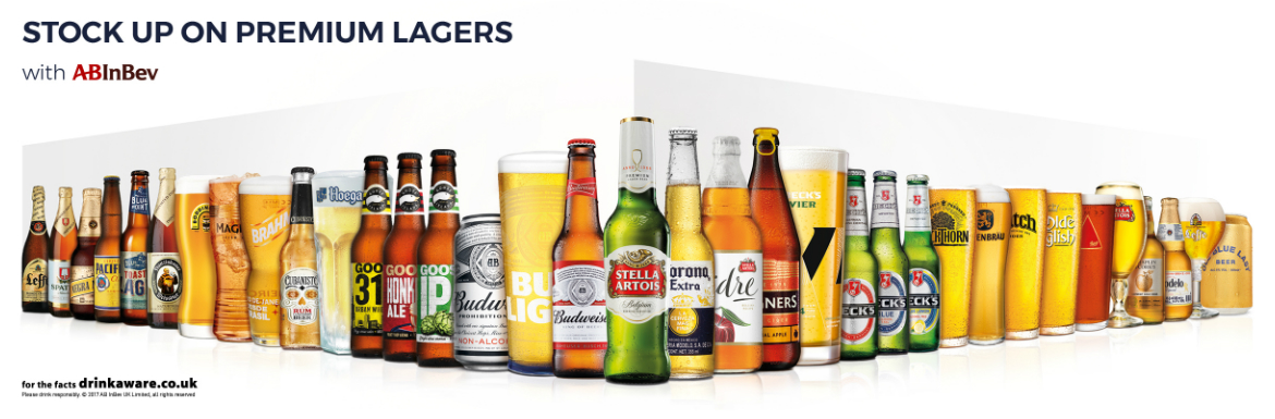 Stock up on Premium Lagers