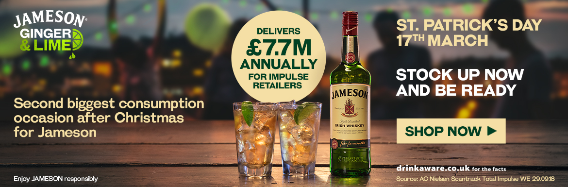 Jameson - Stock Up Now