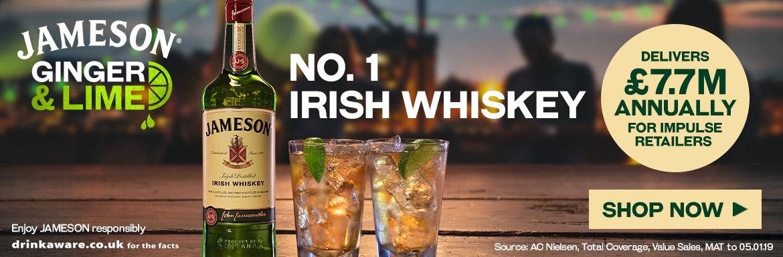 Jameson - No.1 Irish Whiskey