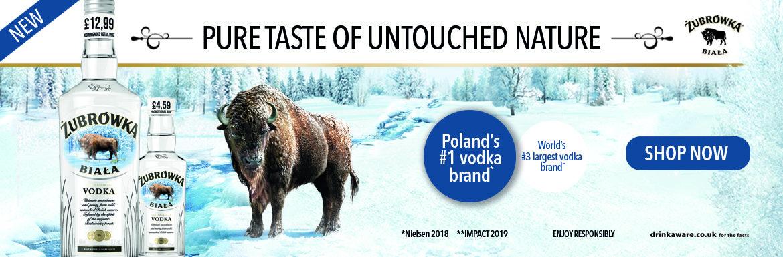 Zubrowka Biala - Pure taste of untouched nature