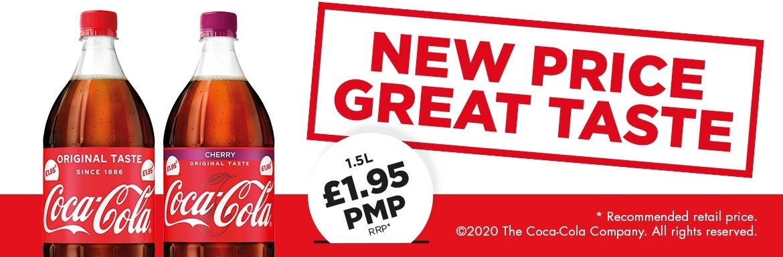 Coca-Cola New Price, Great Taste