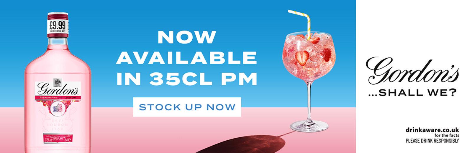 Gordons Pink Gin 35cl PMP 1600x520pixels