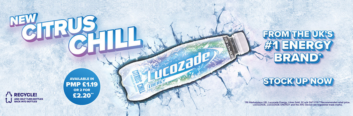 Lucozade Chill Banner