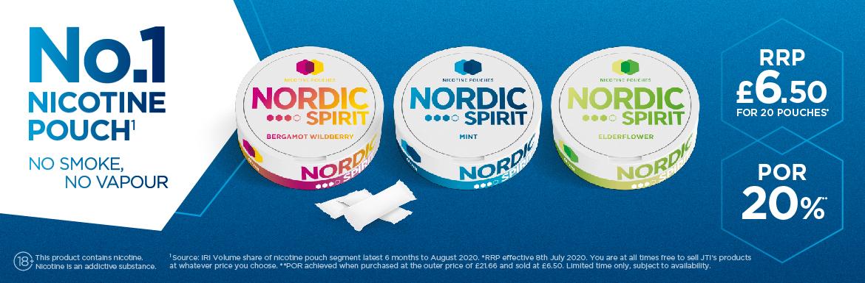 Nordic Spirit - No.1 Nicotine Patch