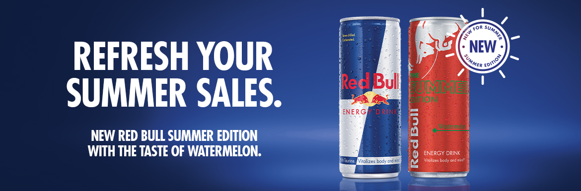 Refresh Your Summer Sales with Red Bull Summer Edition Watermelon