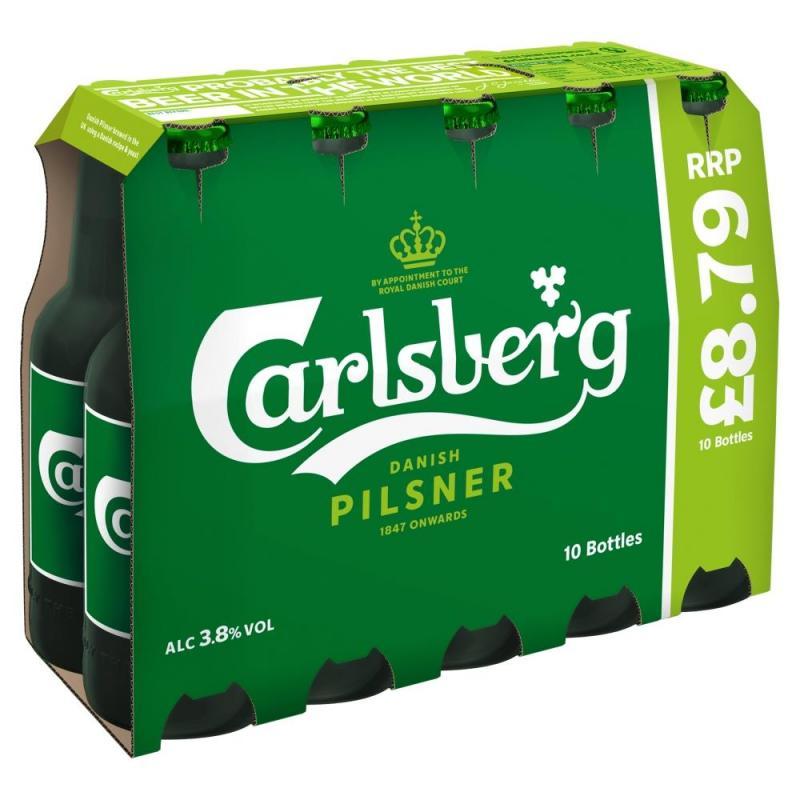Carlsberg Lager   PM 10 For  £8.79