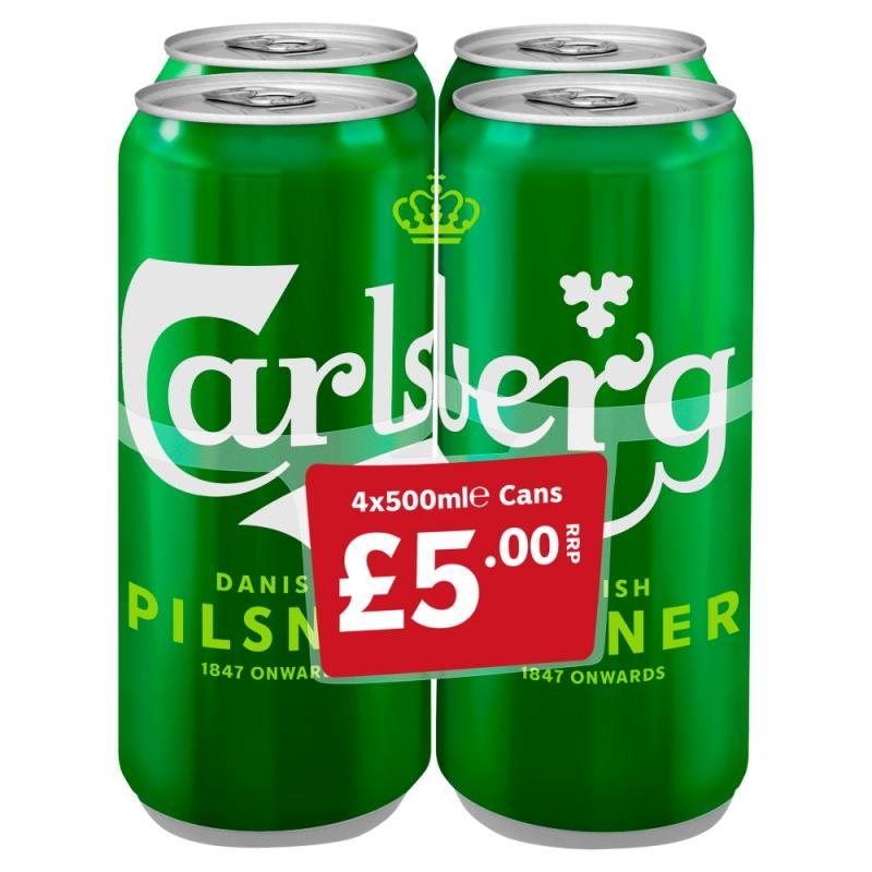Carlsberg Lager  PM 4 For £5