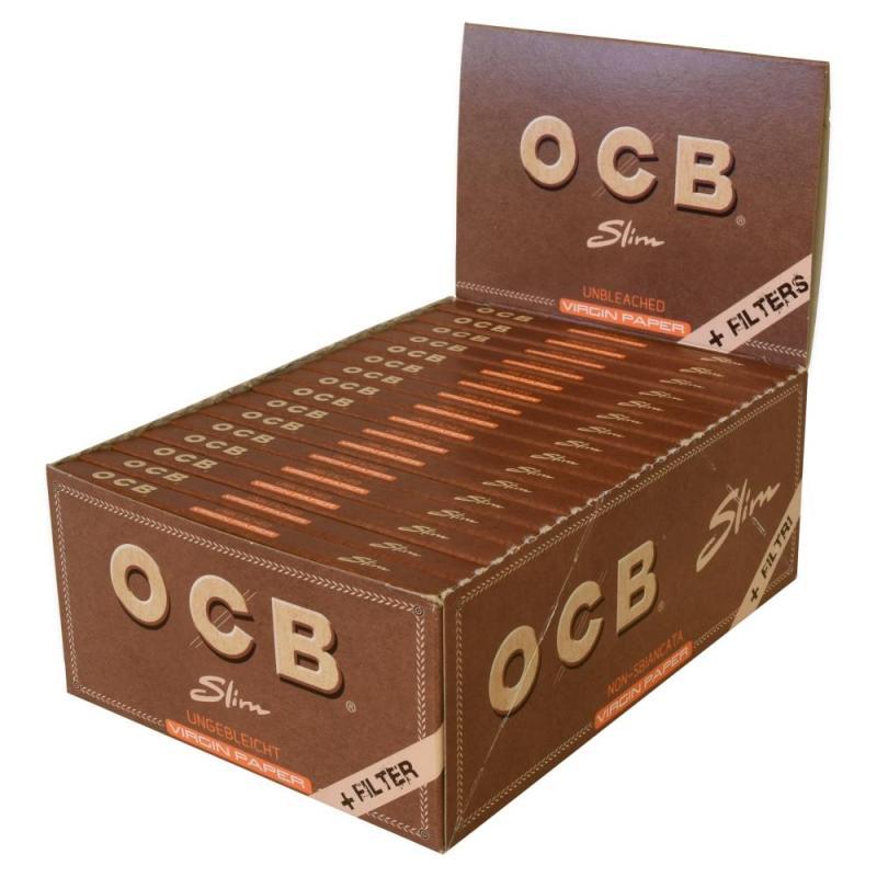 OCB Virgin Slim Papers & Tips