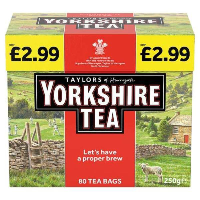 Yorkshire Tea Bags Original    PM  £2.99