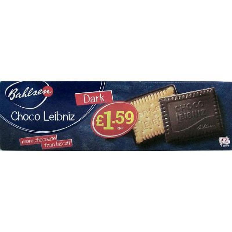 Bahlsen Choco Leibniz Dark    PM  £1.59
