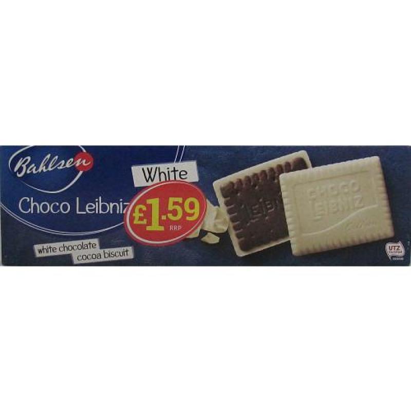 Bahlsen Choco Leibniz White    PM  £1.59