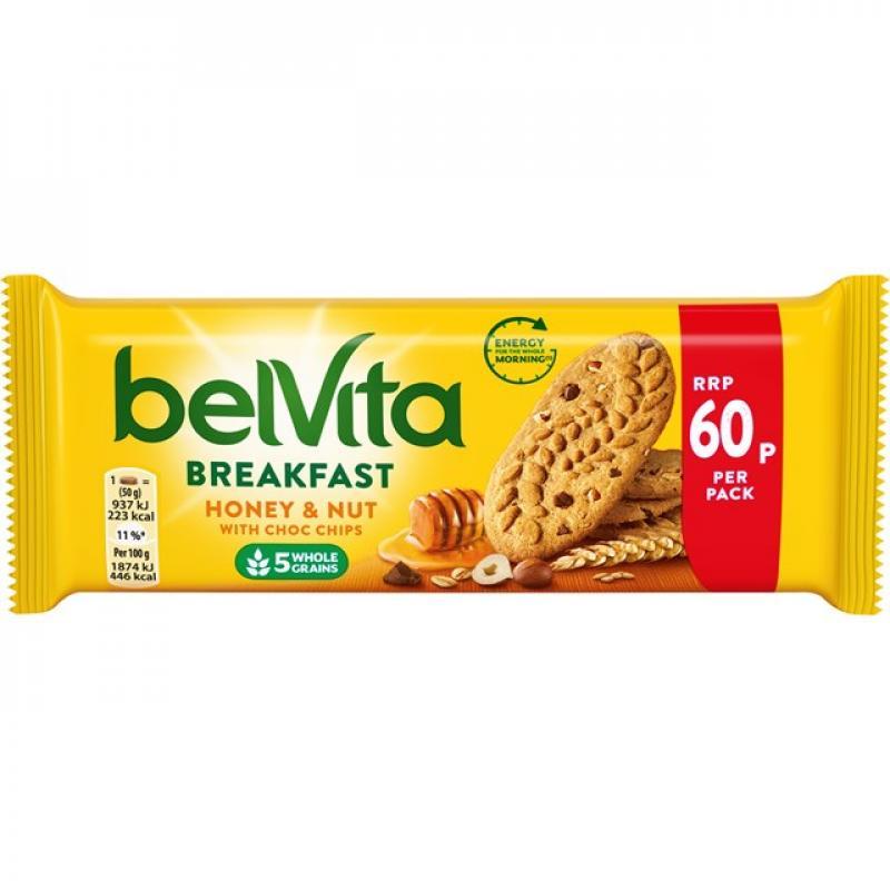 Belvita Honey & Nut    PM 60p