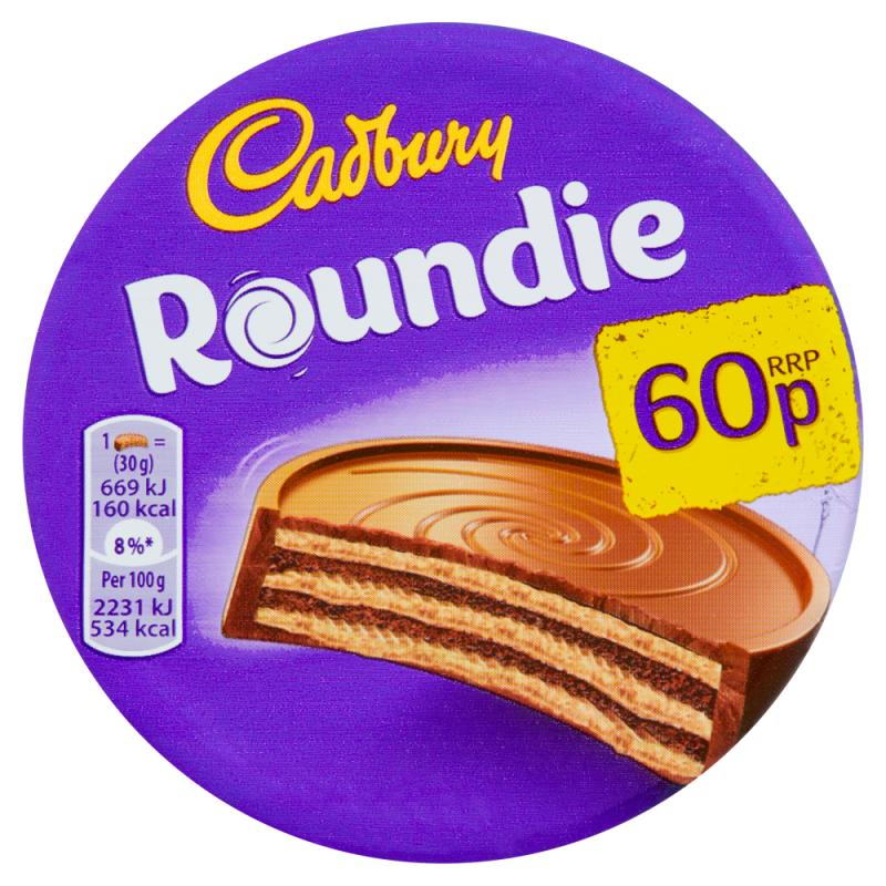 Cadbury Roundie Milk    PM 60p
