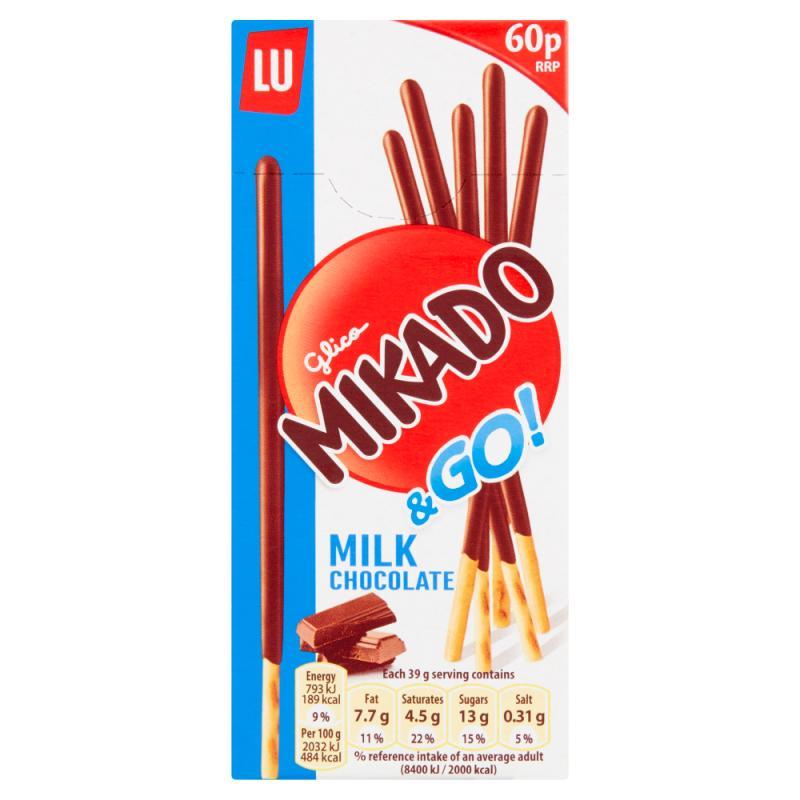 Mikado Milk Chocolate    PM 60p