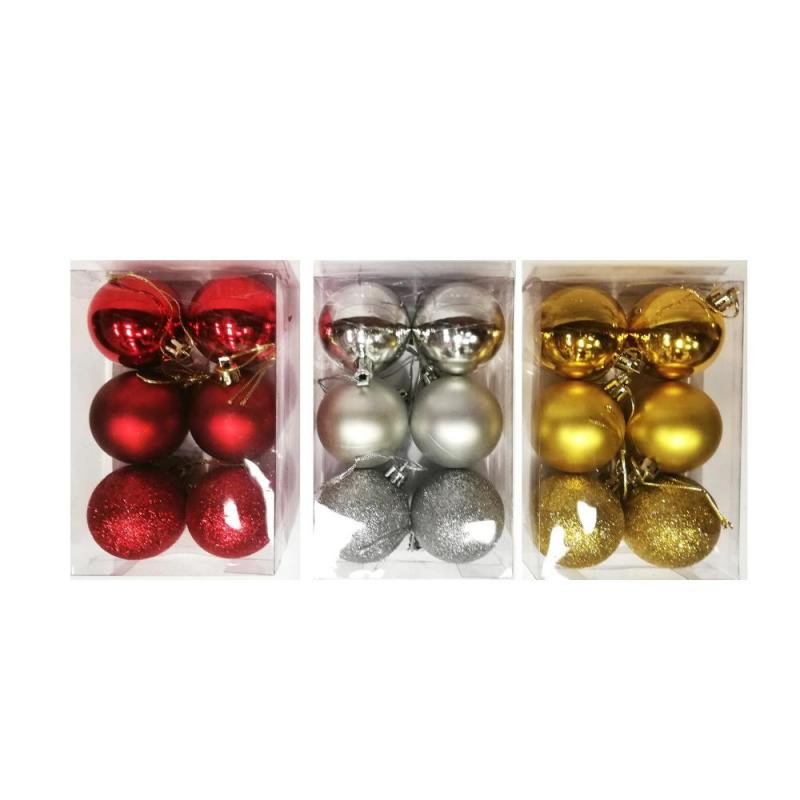 Baubles Glitter Assorted