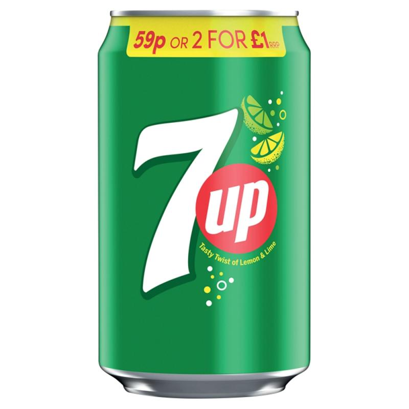 7up Regular  PM 59p / 2 for £1