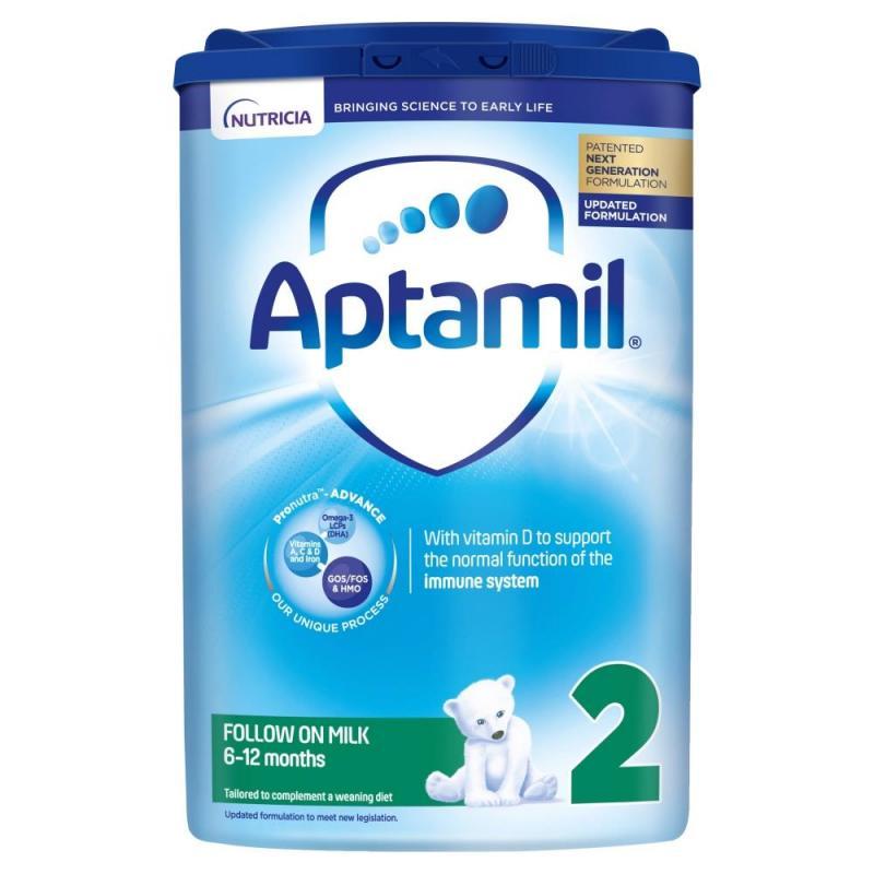 Aptamil 2 Follow On Milk Powder 6 to 12 Months