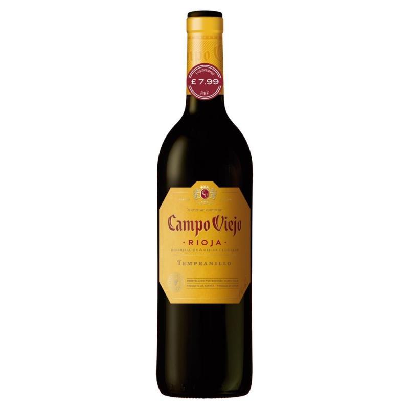 Campo Viejo Rioja Tempranillo   PM  £7.99