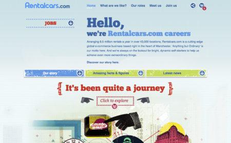 Rental Cars - Careers Website