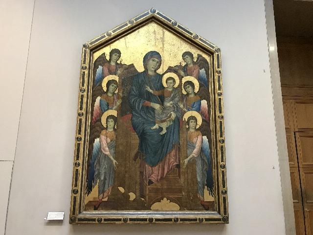 Madonna and Child in Majesty Surrounded by Angels