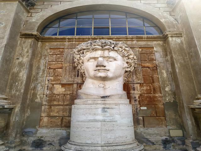 Retrato de Augusto