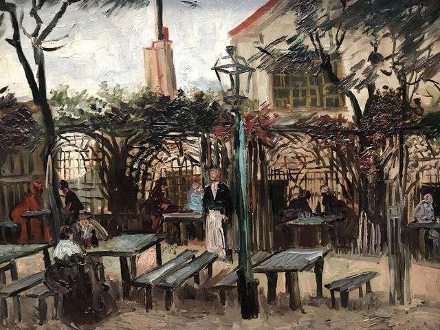 La guinguette en Montmartre