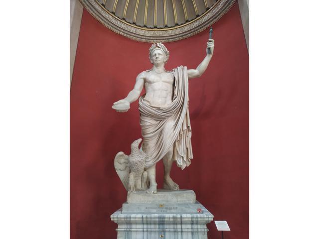 Estatua colosal de Claudio como Júpiter