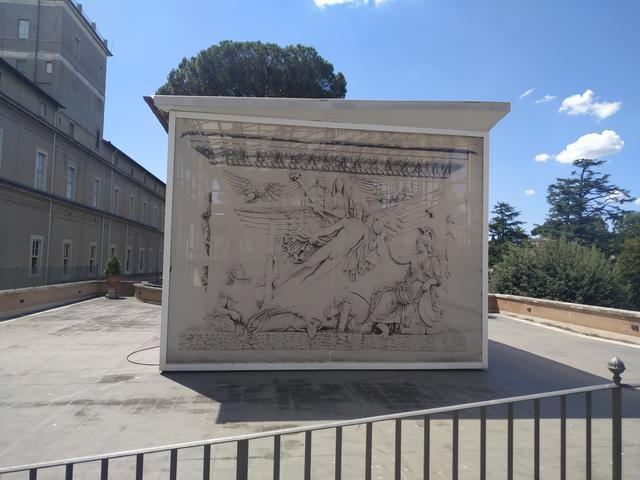 Basamento de la Columna Honorífica de Antonino Pio (161 d. C)
