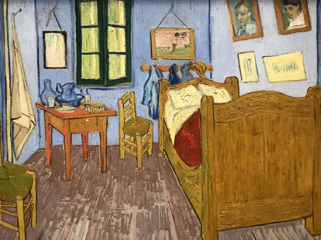 The bedroom in Arles