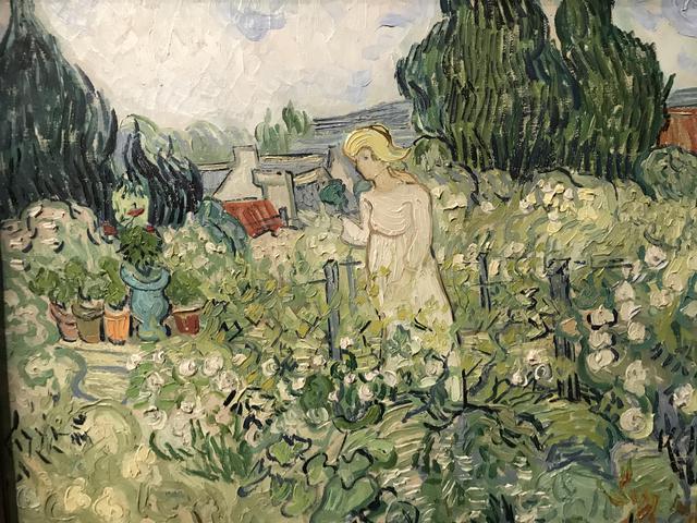 Mademoiselle Gachet dans son jardin à Auvers-sur-Oise