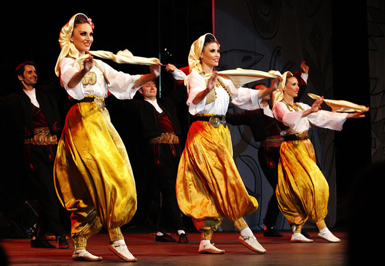 National costumes from South Serbia